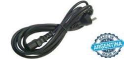 CABLE INTERLOCK PC FUENTE ATX COMPUTADORA 1,5 MT INDUSTRIA ARGENTINA.